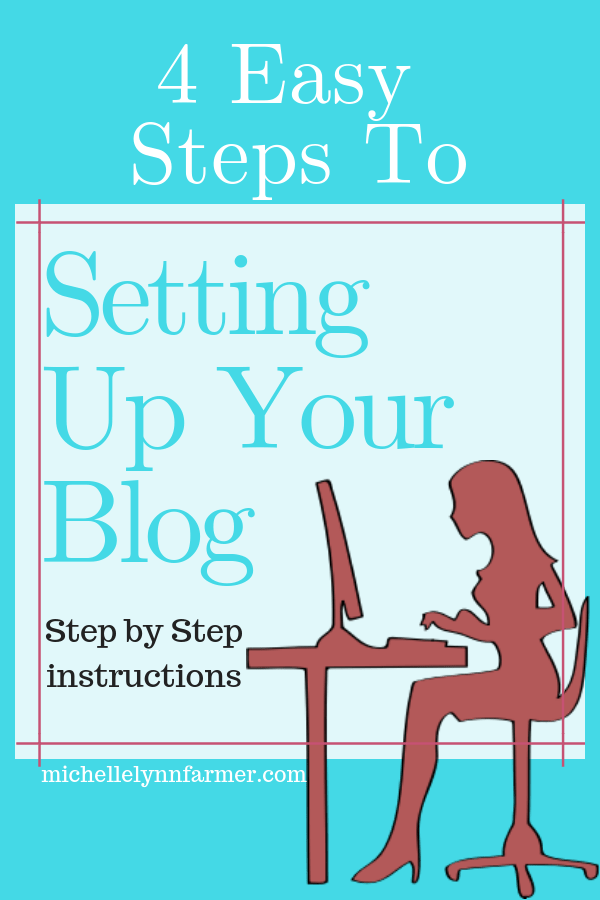 4 Easy Steps To Setting Up Your Blog-min