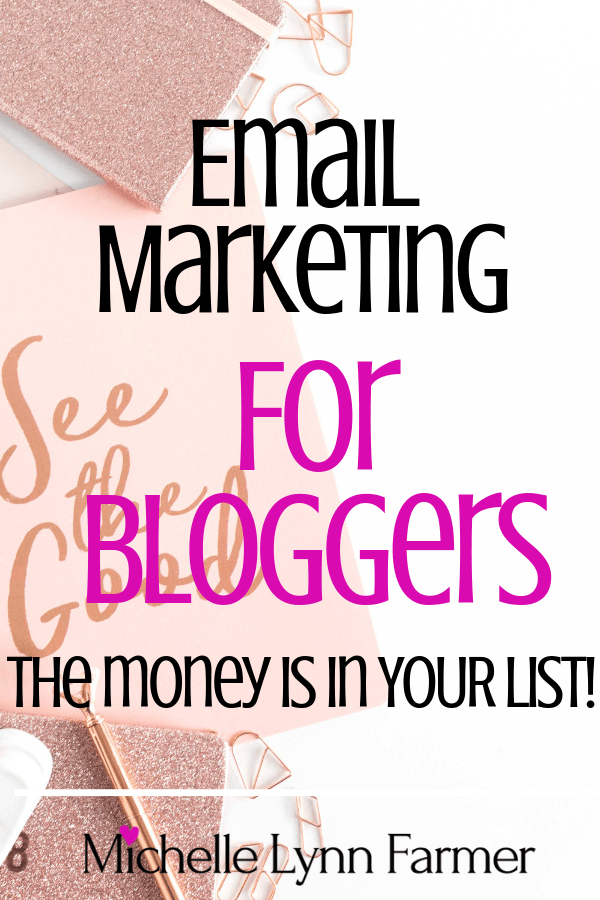 Email Marketing For Bloggers pin-min