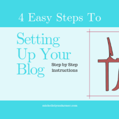 Steps To Setting Up Your Blog