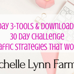 30 Day Challenge Traffic Day 3 Tools