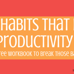Bad Habits That Kill Productivity Free Workbook-min