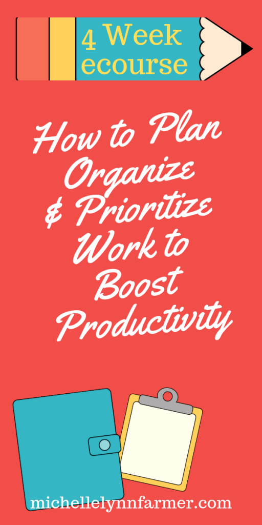 How To Plan, Organize And Prioritize Work To Boost Productivity-min